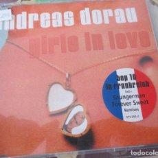 CDs de Música: ANDREAS DORAU - GIRLS IN LOVE ( CD SINGLE ). Lote 119534127