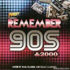 CDs de Música: MDT PRESENTA REMEMBER 90S & 2000 (2001). Lote 133853541