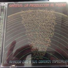 CDs de Música: AVIADOR DRO SINTESIS LA PRODUCCIÓN AL PODER DOBLE CD. Lote 119562114