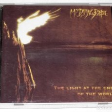 CDs de Música: CD MY DYING BRIDE - THE LIGHT AT THE END OF THE WORLD. Lote 119562607