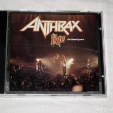 CDs de Música: CD ANTHRAX - LIVE THE ISLAND YEARS. Lote 119563227