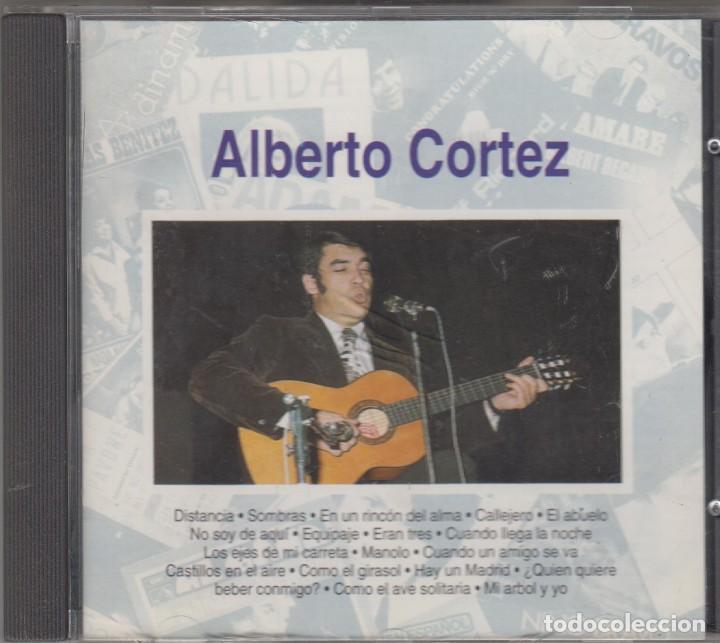 ALBERTO CORTEZ CD 1992 RECOPILACIÓN 18 TEMAS (Música - CD's Melódica )