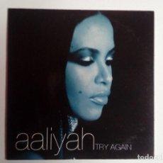 CDs de Música: AALIYAH: TRY AGAIN, CD SINGLE PROMO VIRGIN. SPAIN, 2000.. Lote 206939051