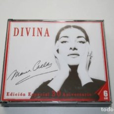 CDs de Música: MARIA CALLAS. DIVINA. EDICIÓN 30 ANIVERSARIO. 6 CD'S. Lote 119744283