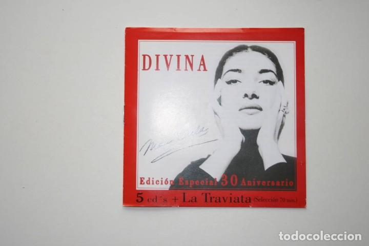 CDs de Música: Maria Callas. Divina. Edición 30 Aniversario. 6 CDs - Foto 7 - 119744283