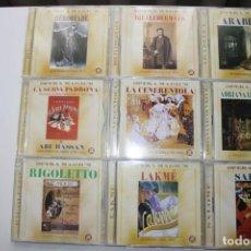 CDs de Música: OPERA MAGIC'S. 9 CAJAS. 18 CD'S.. Lote 119781579