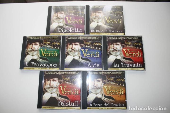 GIUSEPPE VERDI. 7 CD'S. (Música - CD's Clásica, Ópera, Zarzuela y Marchas)