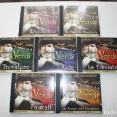 CDs de Música: GIUSEPPE VERDI. 7 CD'S.. Lote 119782235