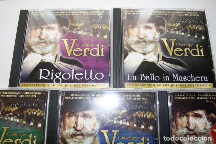 CDs de Música: Giuseppe Verdi. 7 CDs. - Foto 2 - 119782235