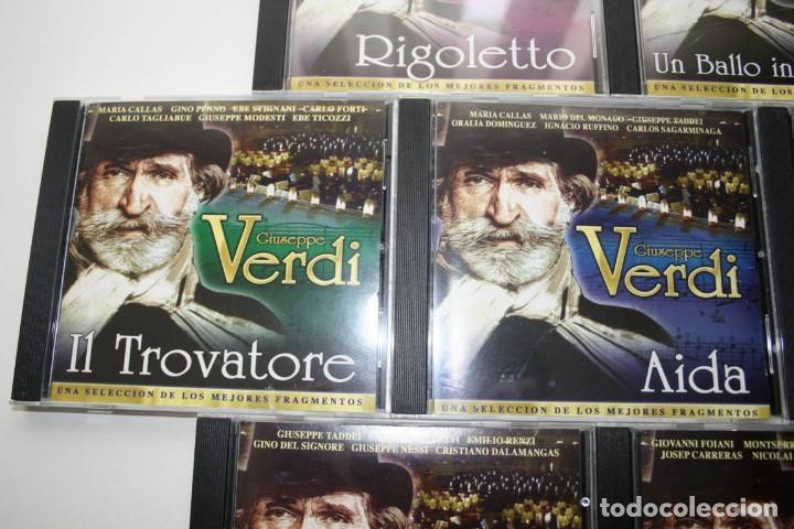 CDs de Música: Giuseppe Verdi. 7 CDs. - Foto 3 - 119782235