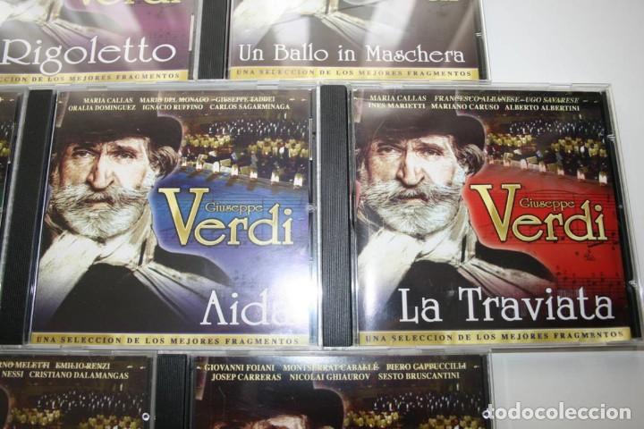 CDs de Música: Giuseppe Verdi. 7 CDs. - Foto 4 - 119782235