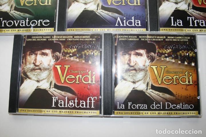 CDs de Música: Giuseppe Verdi. 7 CDs. - Foto 5 - 119782235