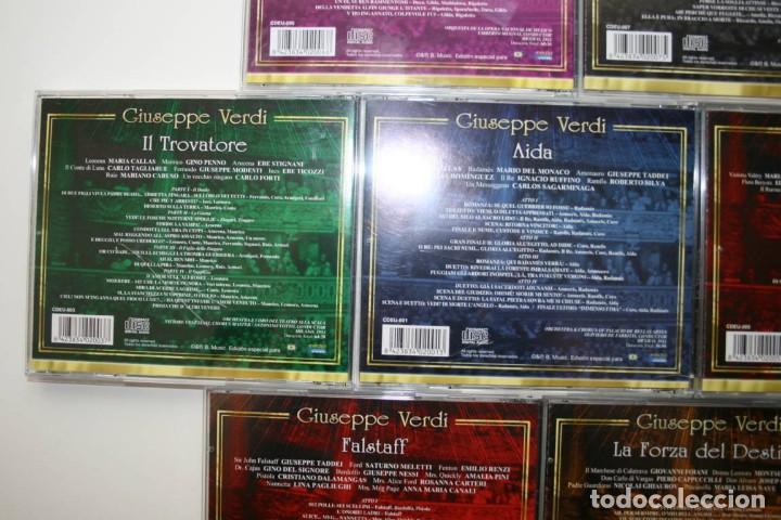 CDs de Música: Giuseppe Verdi. 7 CDs. - Foto 8 - 119782235