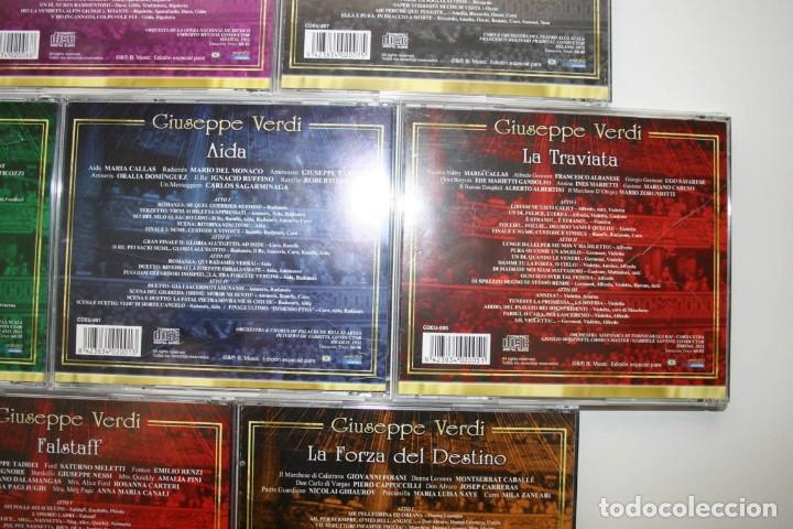CDs de Música: Giuseppe Verdi. 7 CDs. - Foto 9 - 119782235