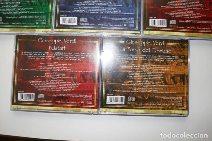CDs de Música: Giuseppe Verdi. 7 CDs. - Foto 10 - 119782235