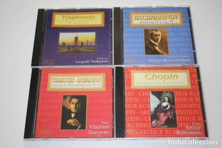 CDs de Música: Magic Masters. 20 CDs. Música clásica. Mozart, Bach, Chopin, Dvorak, Wagner... - Foto 5 - 119784299