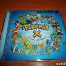 CDs de Música: POKEMON X 10 YEARS OF POKEMON BANDA SONORA CD ALBUM DEL AÑO 2007 USA CONTIENE 18 TEMAS . Lote 119891595
