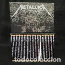 CDs de Música: METALLICA BY REQUEST COLECCION COMPLETA EN CDS MAS OTROS CDS, DVDS Y LIBROS. Lote 119923763