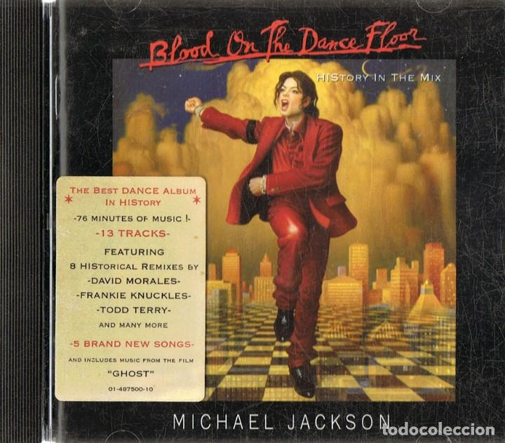 MICHAEL JACKSON ¨BLOOD ON THE DANCE FLOOR¨ HISTORIA IN THE MIX (CD)