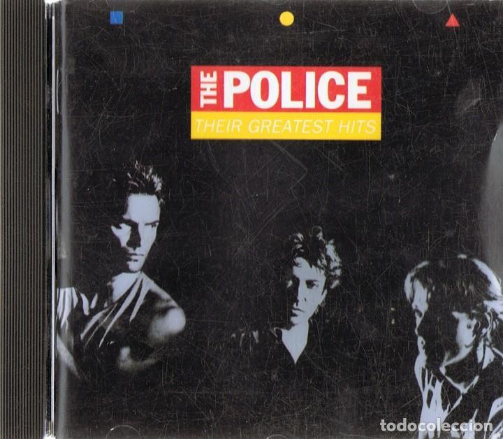 CD THE POLICE ¨THEIR GREATEST HITS¨ (CD) (Música - CD's Rock)