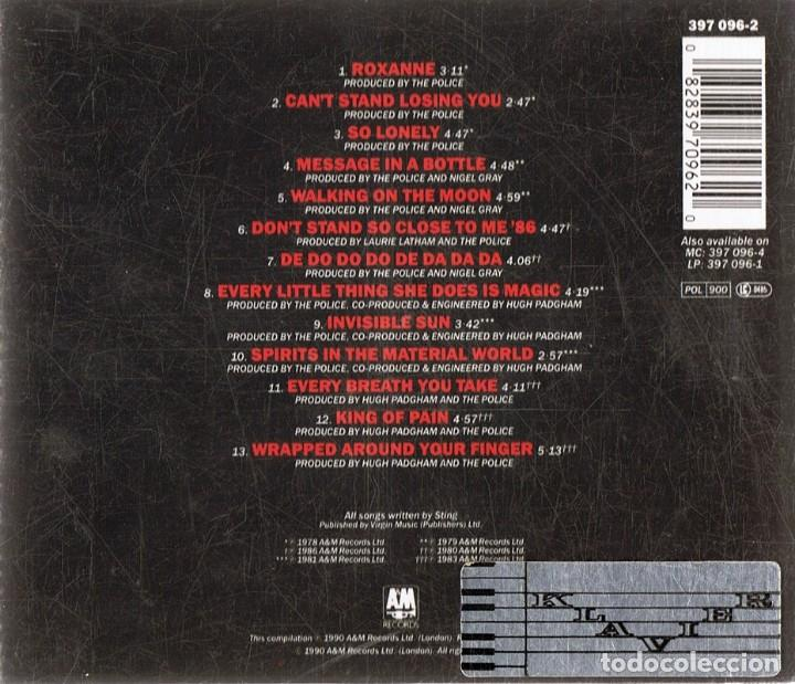 CDs de Música: CD THE POLICE ¨THEIR GREATEST HITS¨ (CD) - Foto 2 - 119954927