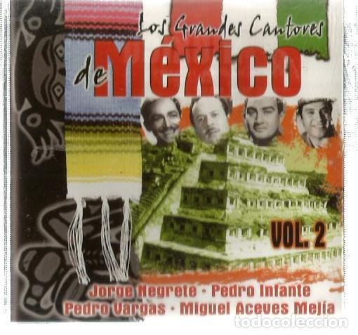 CD MEXICO VOL. 2 ( JORGE NEGRETE, PEDRO INFANTE, PEDRO VARGAS, MIGUEL ACEVES MEJIA, (Música - CD's Latina)