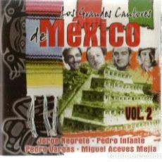 CDs de Música: CD MEXICO VOL. 2 ( JORGE NEGRETE, PEDRO INFANTE, PEDRO VARGAS, MIGUEL ACEVES MEJIA, . Lote 119955183