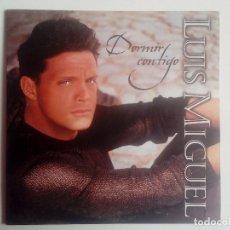 CDs de Música: LUIS MIGUEL: DORMIR CONTIGO, CD SINGLE PROMO WEA SP006W. SPAIN, 1999. Lote 119988655