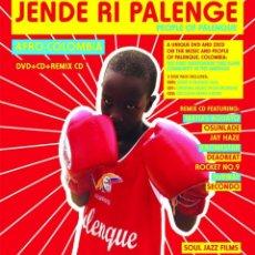 CDs de Música: VARIOS: JENDE RI PALENGE - SOUL JAZZ RECORDS (2CD + DVD). Lote 120013159