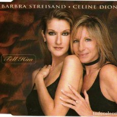 CDs de Música: BARBRA STREISAND & CELINE DION - TELL HIM - CD SINGLE - 3 TRACKS - SONY MUSIC 1997. Lote 120014515