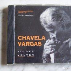CDs de Música: CD CHAVELA VARGAS. VOLVER, VOLVER. GRABADO EN MADRID, 1993.. Lote 120026051