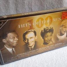 CDs de Música: 100 HITS OF THE 50'S BOX 4 CDS CAJA NUEVA Y PRECINTADA. Lote 120036819