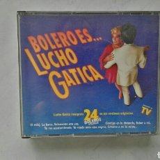 CDs de Música: BOLERO ES LUCHO GATICA DOBLE CD. Lote 120078395