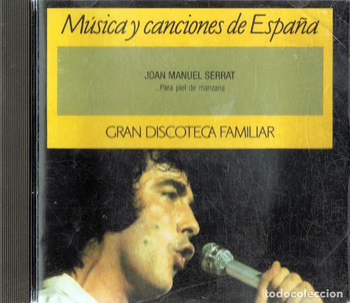 MÚSICA Y CANCIONES DE ESPAÑA JOAN MANUEL SERRAT (CD) (Música - CD's Flamenco, Canción española y Cuplé)
