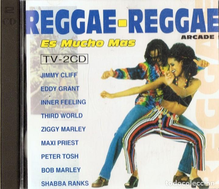 REGGAE - REGGAE ES MUCHO MÁS (2 CD) (Música - CD's Reggae)
