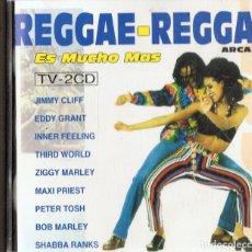 CDs de Música: REGGAE - REGGAE ES MUCHO MÁS (2 CD). Lote 120089779