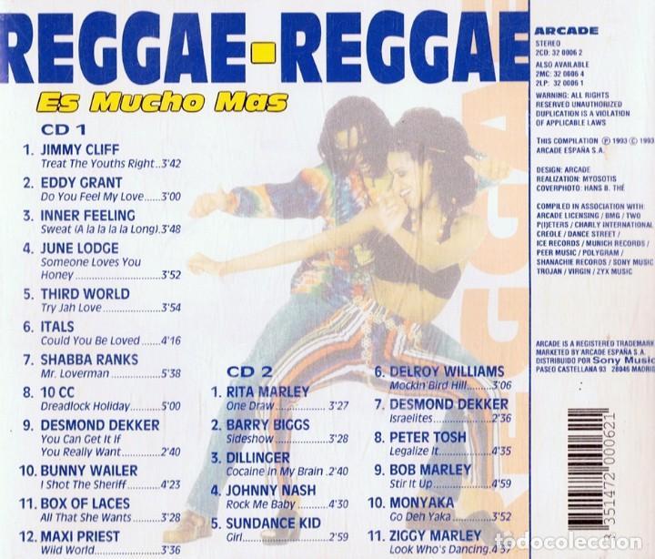CDs de Música: REGGAE - REGGAE ES MUCHO MÁS (2 CD) - Foto 2 - 120089779