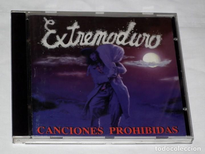 CD EXTREMODURO - CANCIONES PROHIBIDAS (Música - CD's Heavy Metal)