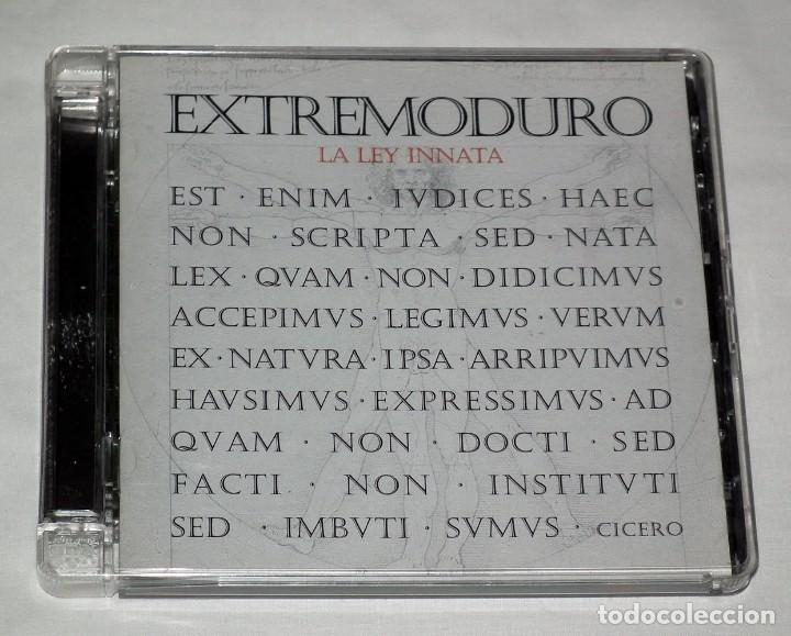 CD EXTREMODURO - LA LEY INNATA (Música - CD's Heavy Metal)