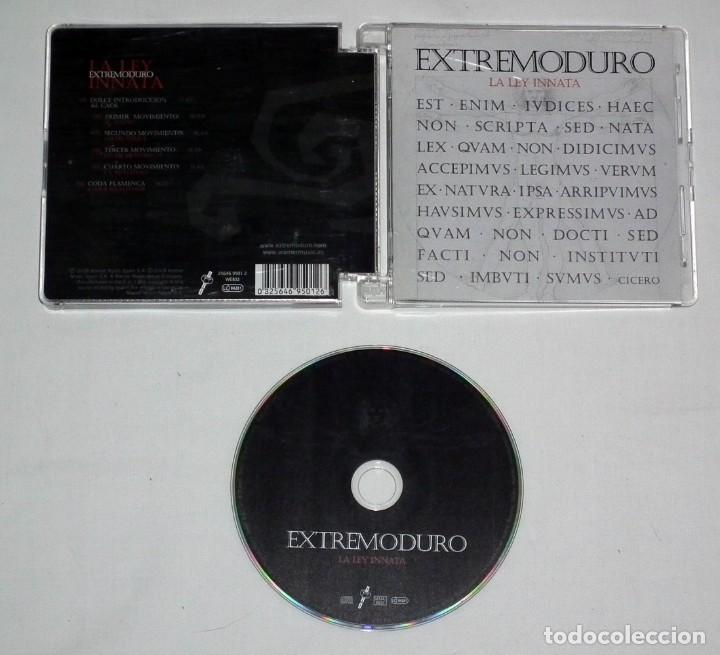 CDs de Música: CD EXTREMODURO - LA LEY INNATA - Foto 2 - 120098327