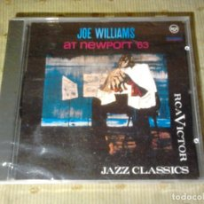 CDs de Música: JOE WILLIAMS JOE WILLIAMS AT NEWPORT 63' GERMANY 1994 CD NEW. Lote 120114983