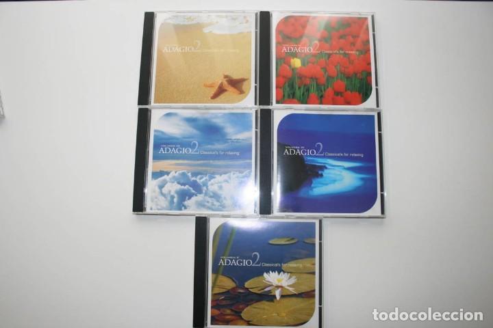 ADAGIO2 CLASSICALS FOR RELAXING 5 CDS. MÚSICA CLÁSICA. (Música - CD's Clásica, Ópera, Zarzuela y Marchas)