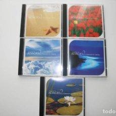 CDs de Música: ADAGIO2 CLASSICALS FOR RELAXING 5 CDS. MÚSICA CLÁSICA.. Lote 120147927