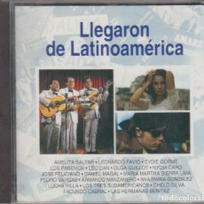 CDs de Música: LLEGARON DE LATINOAMÉRICA CD LEO DAN OLGA GUILLOT DANIEL MAGAL PEDRO VARGAS FACUNDO CABRAL. Lote 120148507