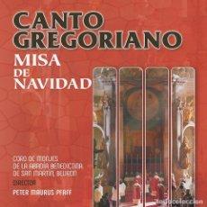 CDs de Música: CANTO GREGORIANO: MISA DE NAVIDAD. Lote 120178063