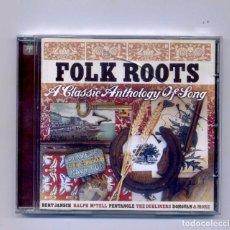 CDs de Música: VARIOS-FOLK ROOTS: A CLASSIC ANTHOLOGY OF SONG (CD) BERT JANSCH,DONOVAN,PENTANGLE.... Lote 120204667
