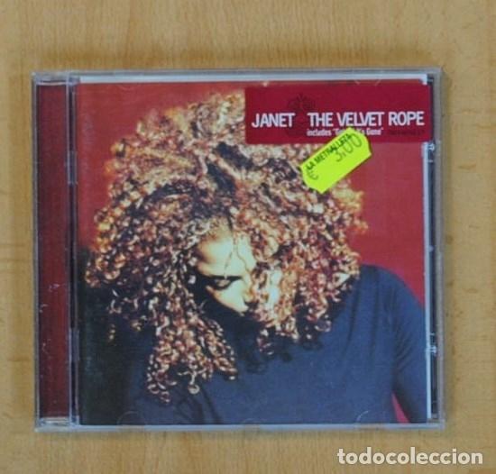 JANET JACKSON - THE VELVET ROPE - CD