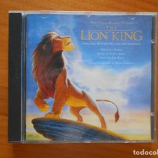 CDs de Música: CD THE LION KING - ORIGINAL MOTION PICTURE SOUNDTRACK - WALT DISNEY (BB). Lote 120296407