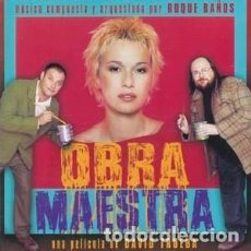 CDs de Música: OBRA MAESTRA MÚSICA COMPUESTA Y ORQUESTADA POR ROQUE BAÑOS. Lote 120344855