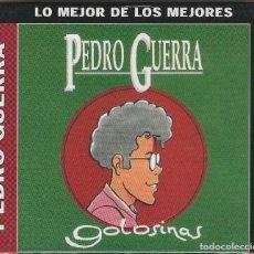 CDs de Música: PEDRO GUERRA - GOLOSINAS + 4 TEMAS (CD BMG-ARIOLA 2002) NUEVO. PRECINTADO.. Lote 120431671